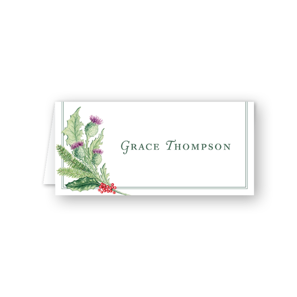 Scottish Place Card