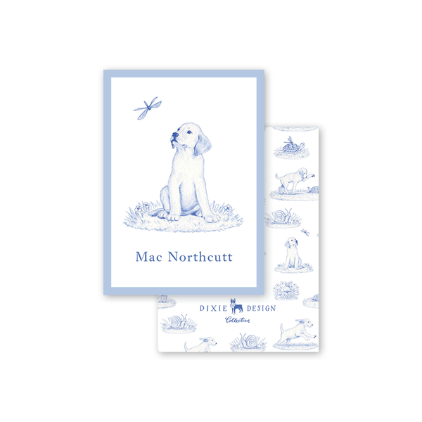 Snips and Snails Puppy Calling Card