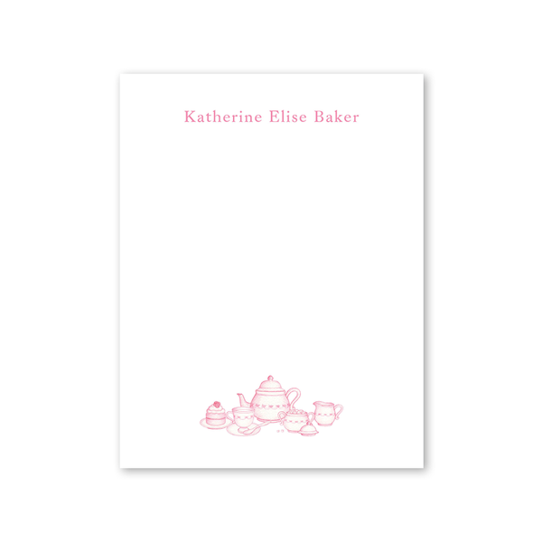 Sugar and Spice Pink Notepad