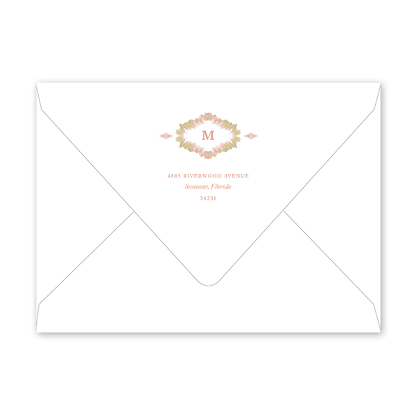 Morocco Blush Envelopes