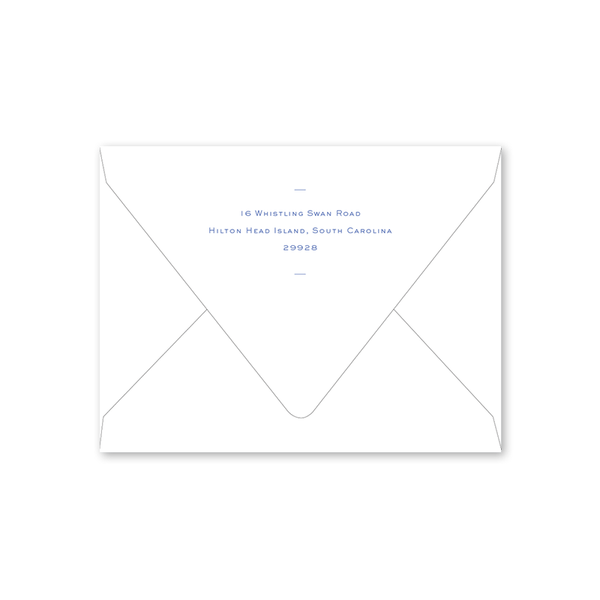 Sea Color Wheel Folded Envelopes