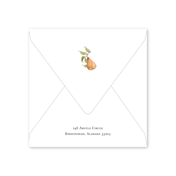 Partridge in a Pear Tree Envelopes