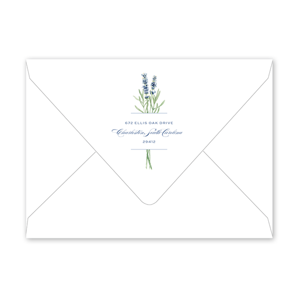 Lavender Field Dinner/Party Envelopes