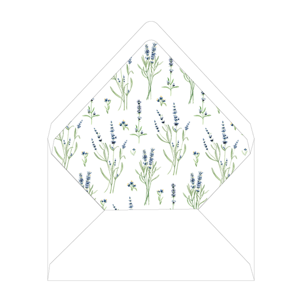 Lavender Field Dinner/Party Liner