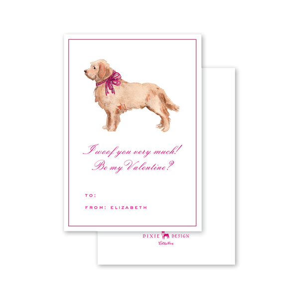 Bow Retriever Valentine