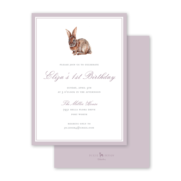 Cottontail Birthday