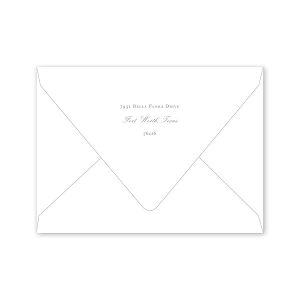 Cottontail Birthday Envelopes
