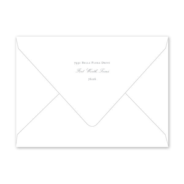 Cottontail Landscape Easter Envelopes
