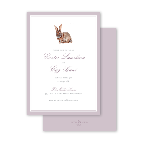 Cottontail Easter Luncheon