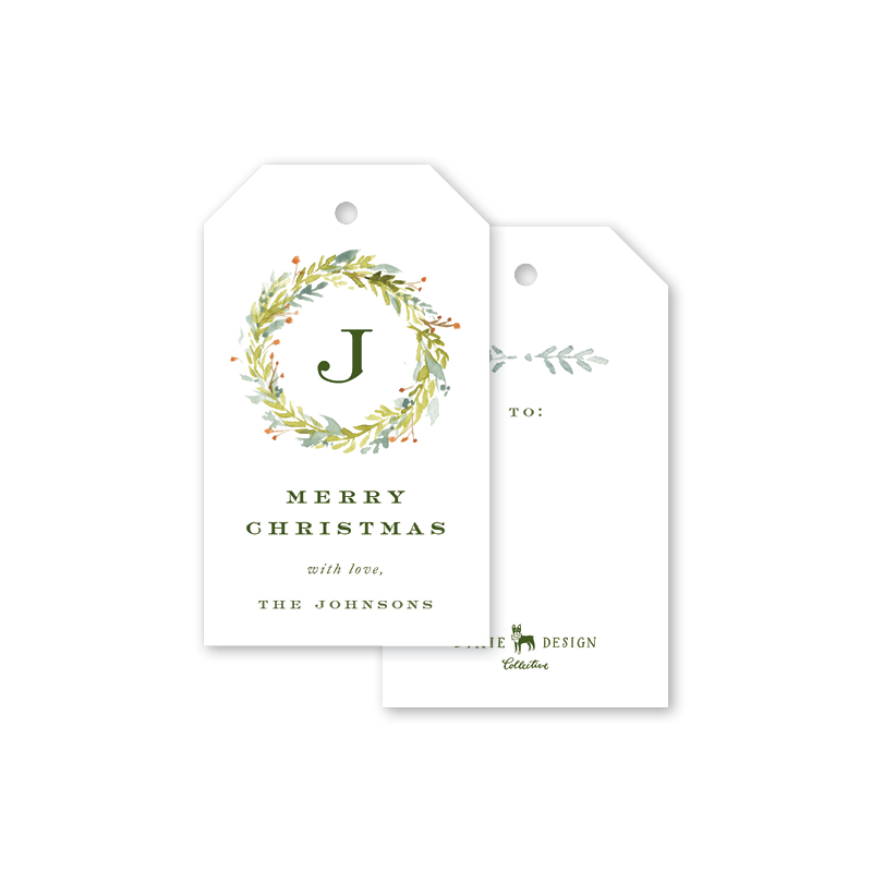 Pine and Berry Gift Tags