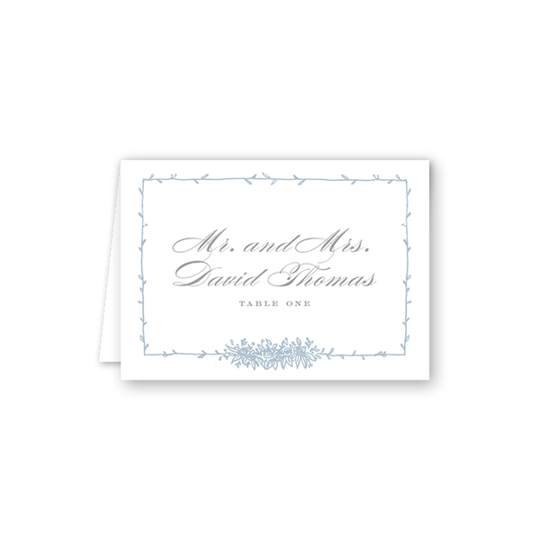 Beverly Blue Escort Card