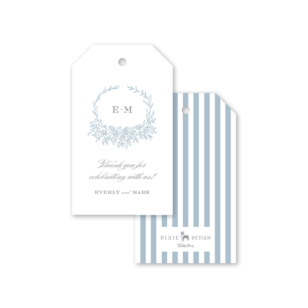 Beverly Blue Gift Tags
