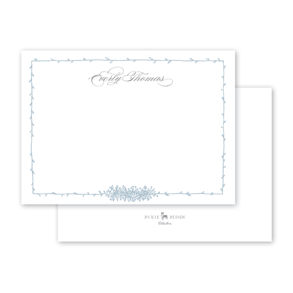 Beverly Blue Notecard