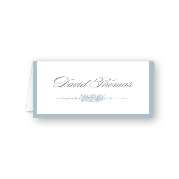 Beverly Blue Place Card
