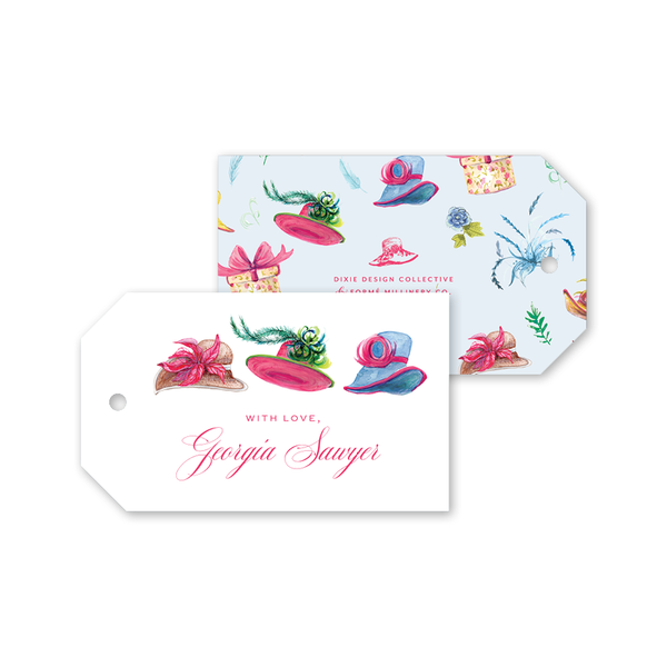 Derby Formé Gift Tags