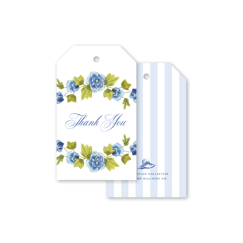 Derby Formé Floral Gift Tags