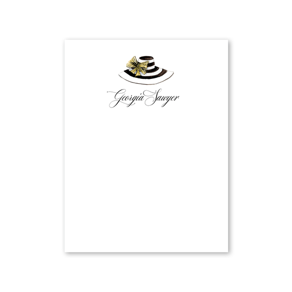 Derby Formé Stripe Notepad