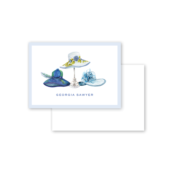 Derby Formé Blue Calling Card