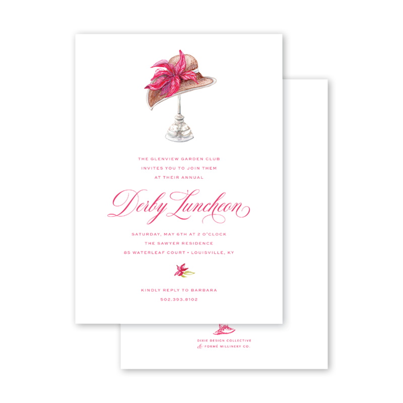 Derby Formé Pink Luncheon