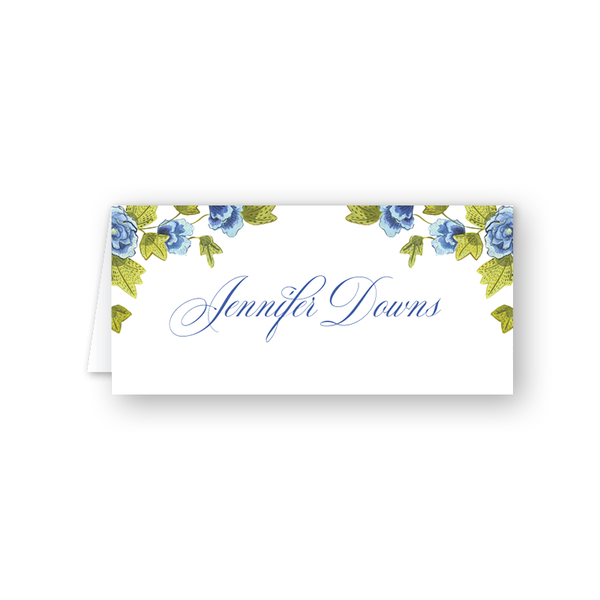 Derby Formé Floral Place Card