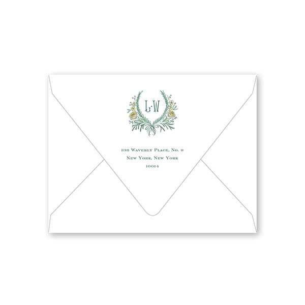 Brafford Crest Save the Date Envelopes