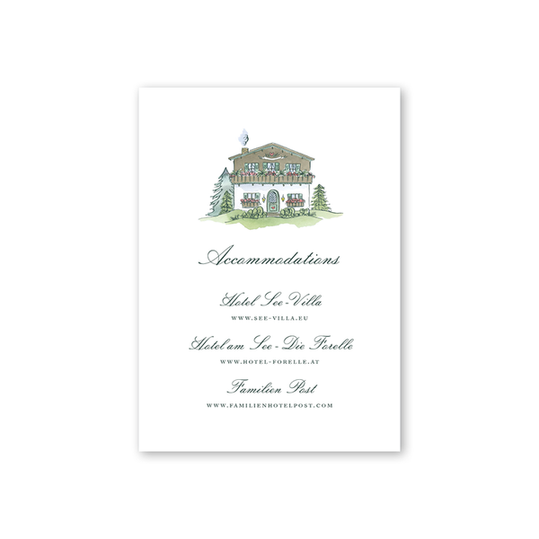 Edelweiss House Details Card
