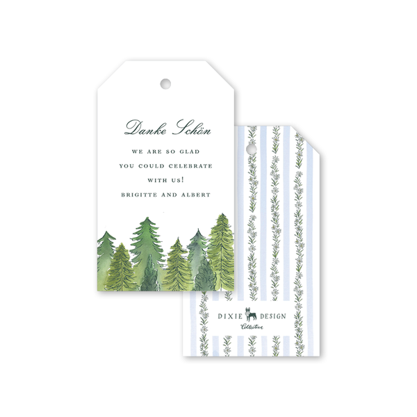 Edelweiss Forest Gift Tags