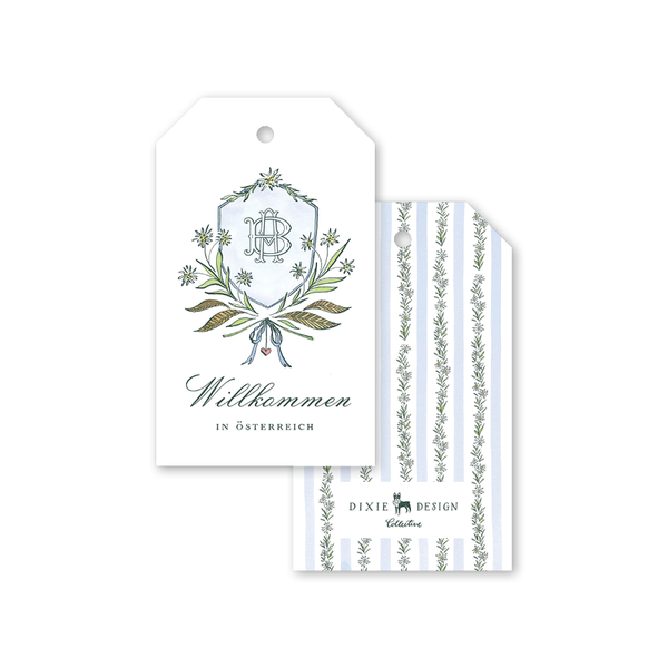 Edelweiss Crest Gift Tags