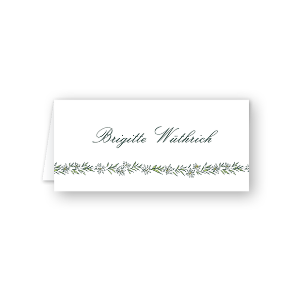 Edelweiss Place Card