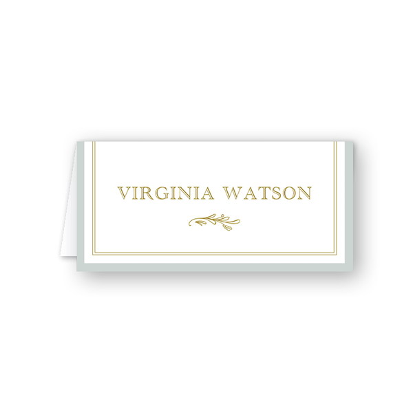 Virginia Place Card