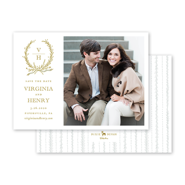 Virginia Save The Date with Photo
