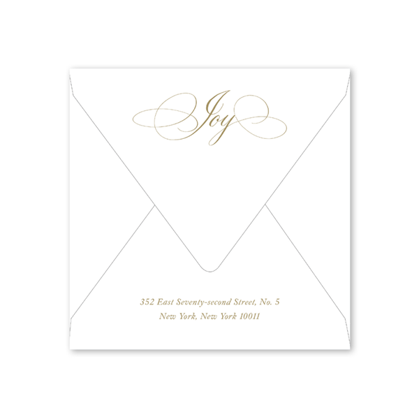 Joy Overflowing Envelopes