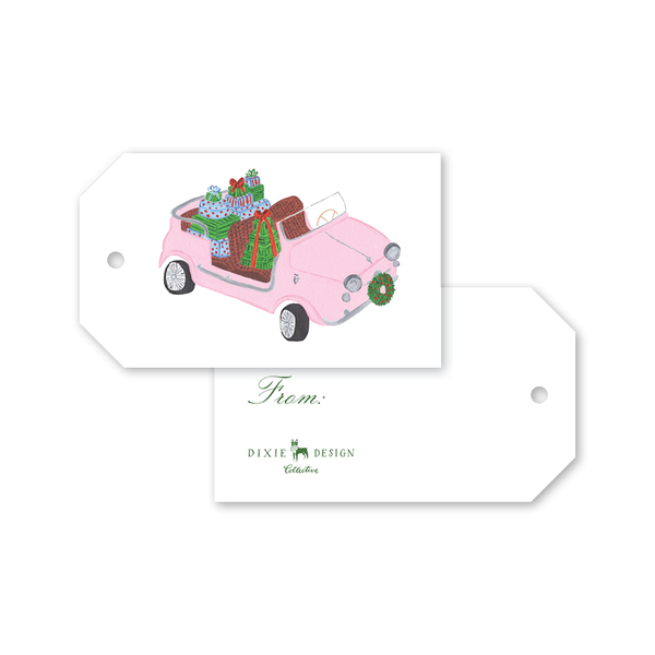 Holiday Car Gift Tags