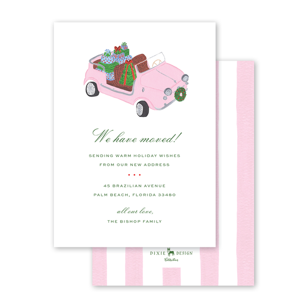 Holiday Car Invitation