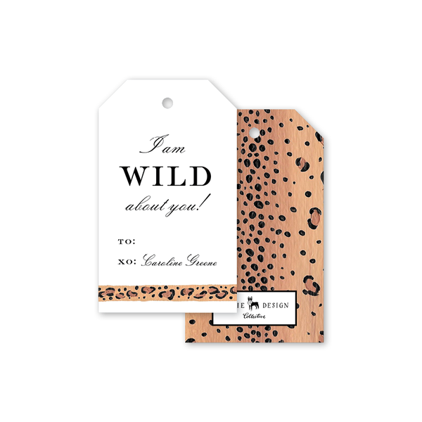 Leopard Border Gift Tags