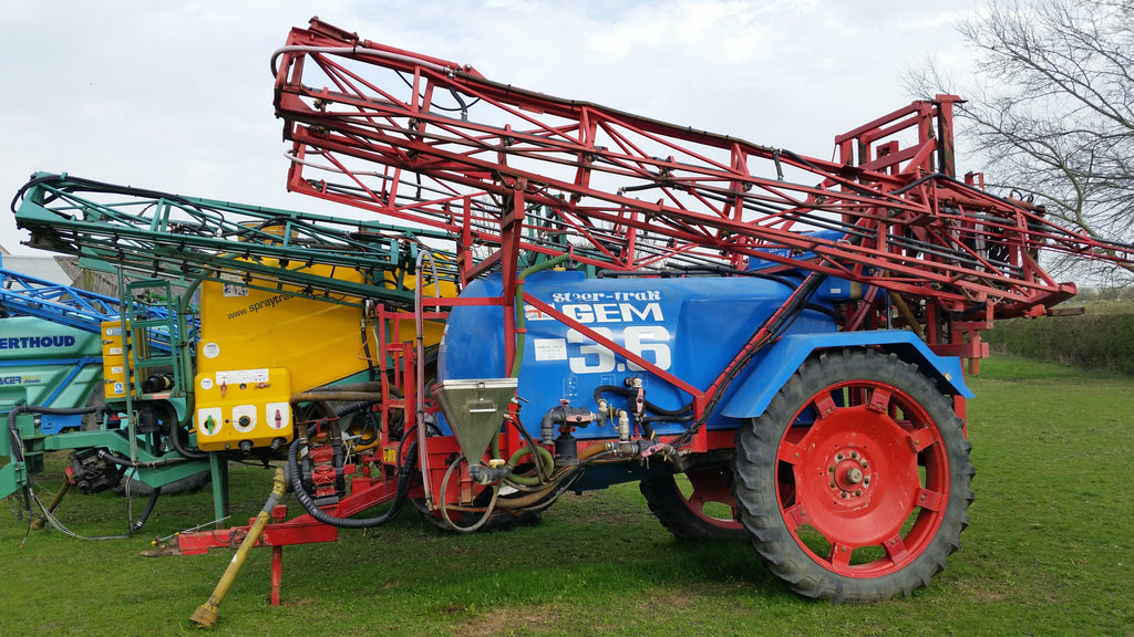 Trailed Gem Sprayer 24m with 3600Litre Tank