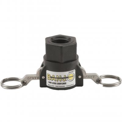 Cam Lever Couplings : Part D - Female Coupler x Female Thread