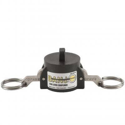 Cam Lever Couplings : Part Cap - Cap ; BSP & NPT