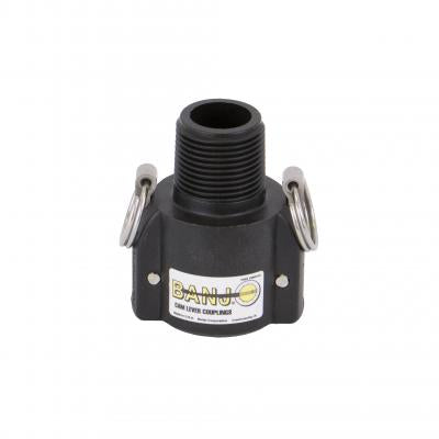 "Cam Lever Couplings : Part B - BSP Thread - Female Coupler 1"" -> Male Thread"
