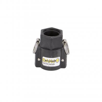"Cam Lever Couplings : Part B - BSP Thread - Female Coupler 1"" ISO 228"