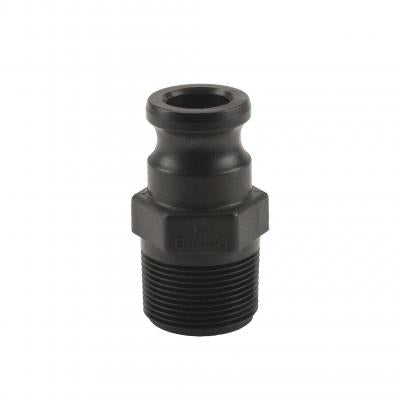 Cam Lever Couplings : Part F - Male Adapter x Male Thread