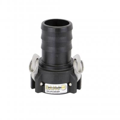 Cam Lever Couplings : Part C - Female Coupler -> Hosetail with 3 arms
