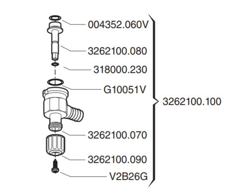 Valve ~ Self Cleaning Regulating Valve + SPARES