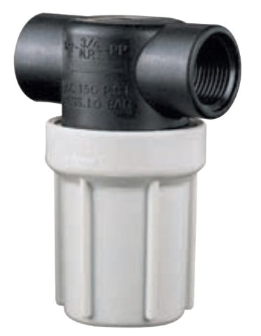 Compact Liquid Strainer - AA122-PP (½ or ¾)