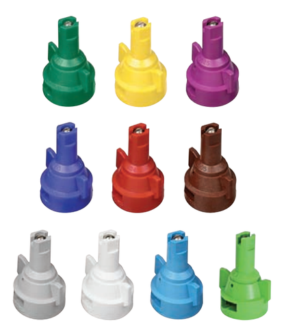 Nozzle - AIC Air Induction Flat Spray Tips - Stainless Steel with VisiFlo® color-coding - 110°
