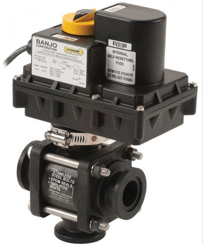"Electric Valves - 1""-2"" 3 Way Bottom Load ON/OFF"
