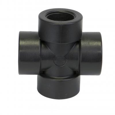 Pipe Fittings : Cross - Standard NPT