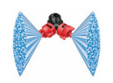 Nozzle - Turbo TeeJet Duo Dual Polymer Flat Fan Spray Tips - VP