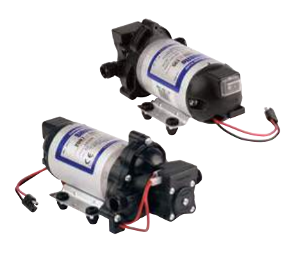 8007 Series Diaphragm Pumps - Bypass and Automatic-Demand 12 VDC with Electrical Package