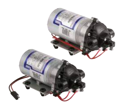 8000 Series Diaphragm Pumps -  Automatic-Demand Pumps 12 VDC